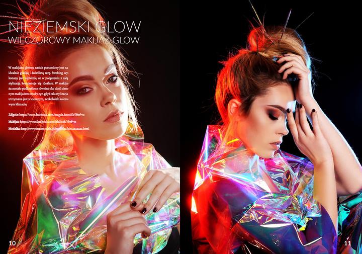 Publikacja magazynie  E-makeupownia