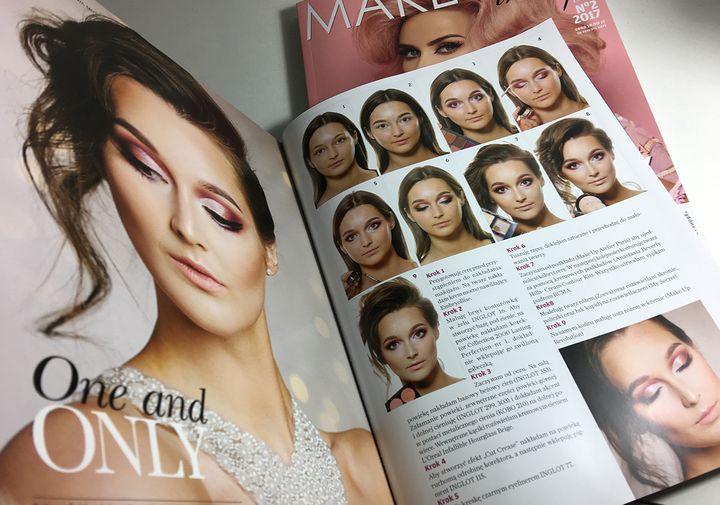 Publikacja  w magazynie Make Up Trendy 2017