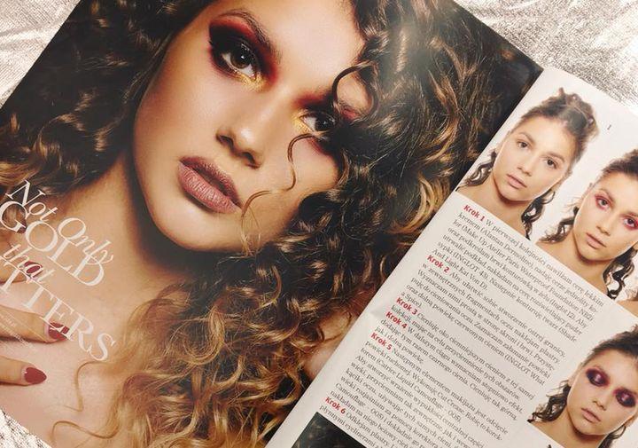 Publikacja  w magazynie Make Up Trendy