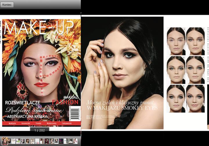 Publikacja  w magazynie Make Up Trendy 2016